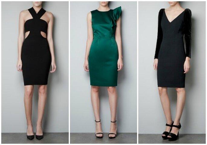 Per invitate audaci ecco tre proposte eccentriche e low cost firmate Zara. Foto www.zara.com