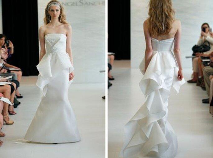 Vestidos de novia. Foto de Angel Sanchez Spring 2013.