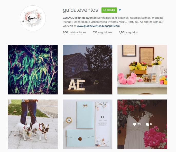 Instagram Guida Design de Eventos