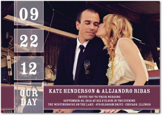 Tendencia en invitaciones de boda 2013 - Foto Wedding Paper Divas