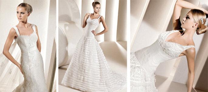 Vestidos de novia con tirantes de La Sposa