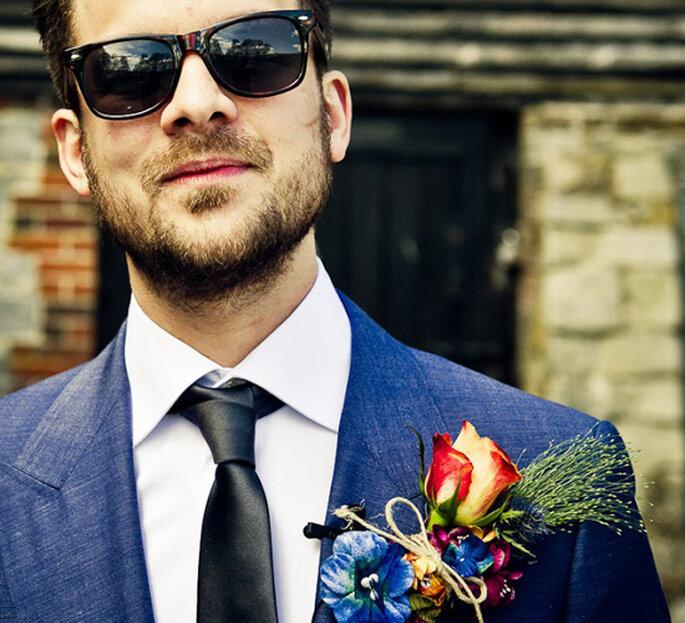 Quoi de plus chic qu'une boutonnière coloré ? Photo: Janis Ratnieks