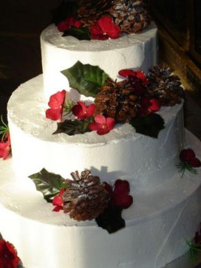 Torta de boda de Navidad - www.pourfemme.it