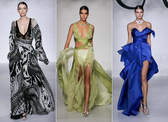 Elegantes y sensuales vestidos del turco Cengiz Abasoglu