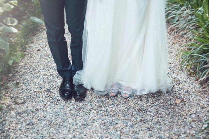 Abito e scarpe da sposa: Jenny Packham