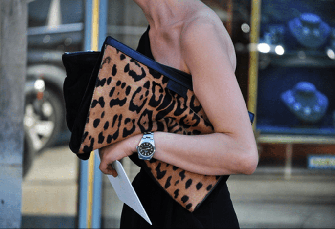 Clutch Leopardo - Foto: Tumblr
