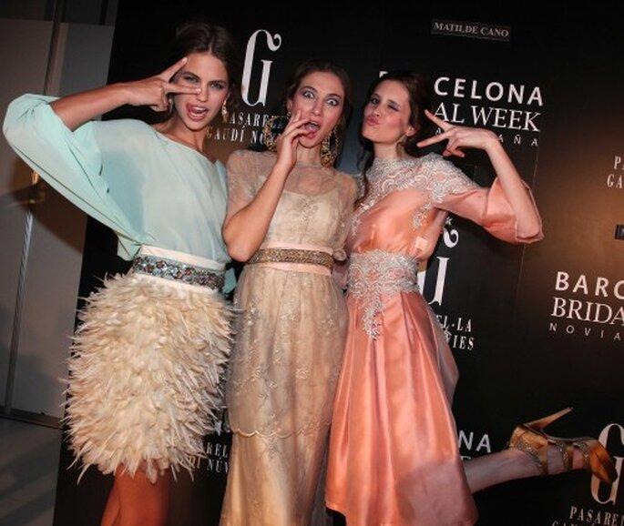 Desfile: Matilde Cano Foto: Barcelona Bridal Week