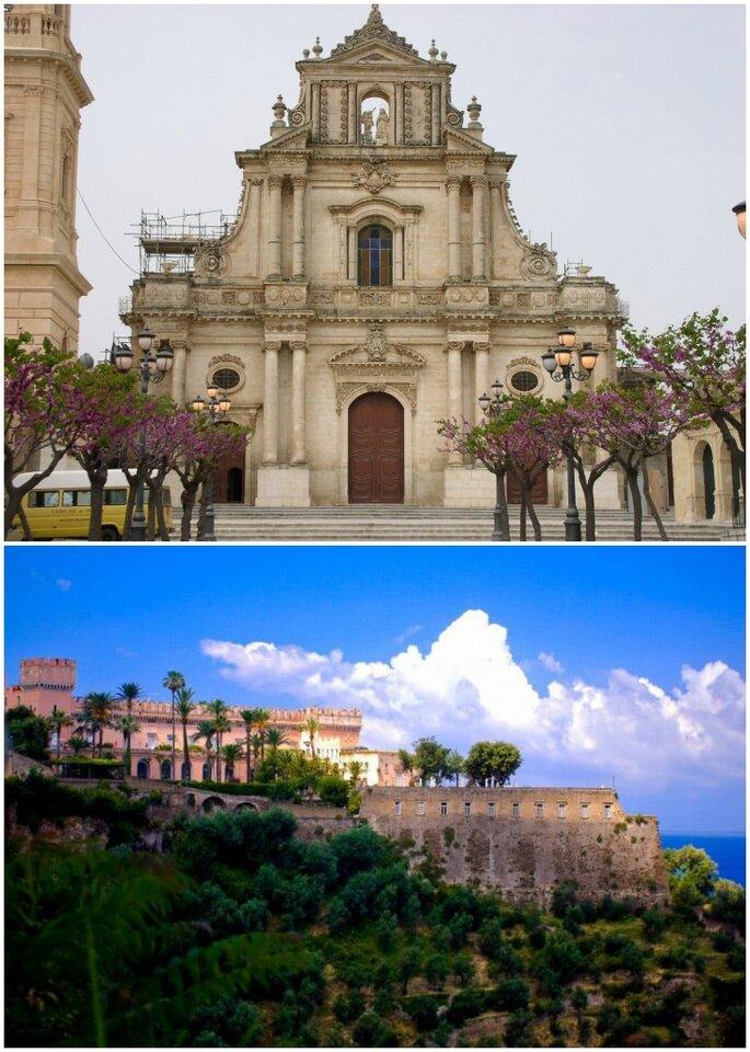 Chiesa Santa Annunziata e Castello Giusso