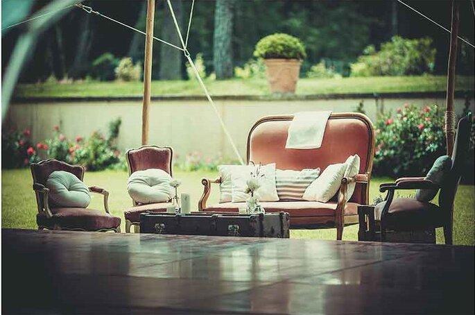 «Salon lounge»  Photographe – Pierre Sautel Création & mise en place – Label'Emotion Provence