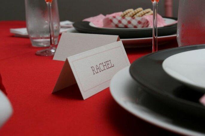 Rojo en contraste, un efecto visual único para tu boda - Foto In The Now Weddings