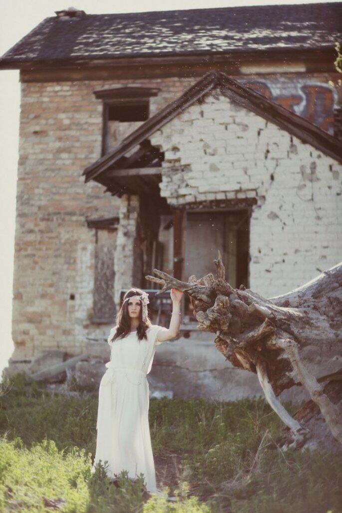 El boom de las novias boho chic - Foto Jessica Janae Photography