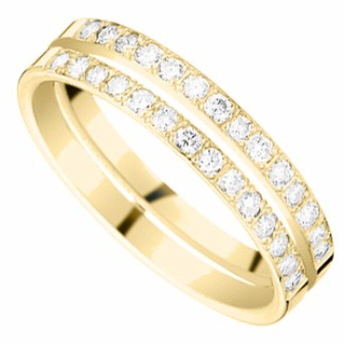 Alliance Clarysse - Les Précieuses - Or et Diamant - Zeina Alliances