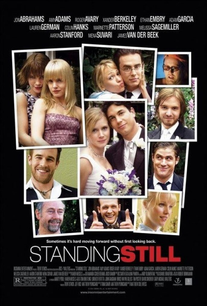 """Affiche du film """"Standing Still"""". Photo: Insomnia Entertainment / Rice/Walters Productions"""