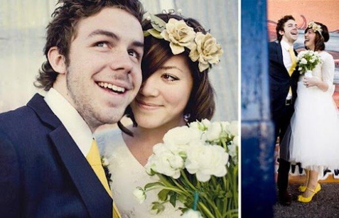Der Heiratsantrag soll, wie die Hochzeit selbst, unvergessliche bleiben – Foto: sloan whichgoose