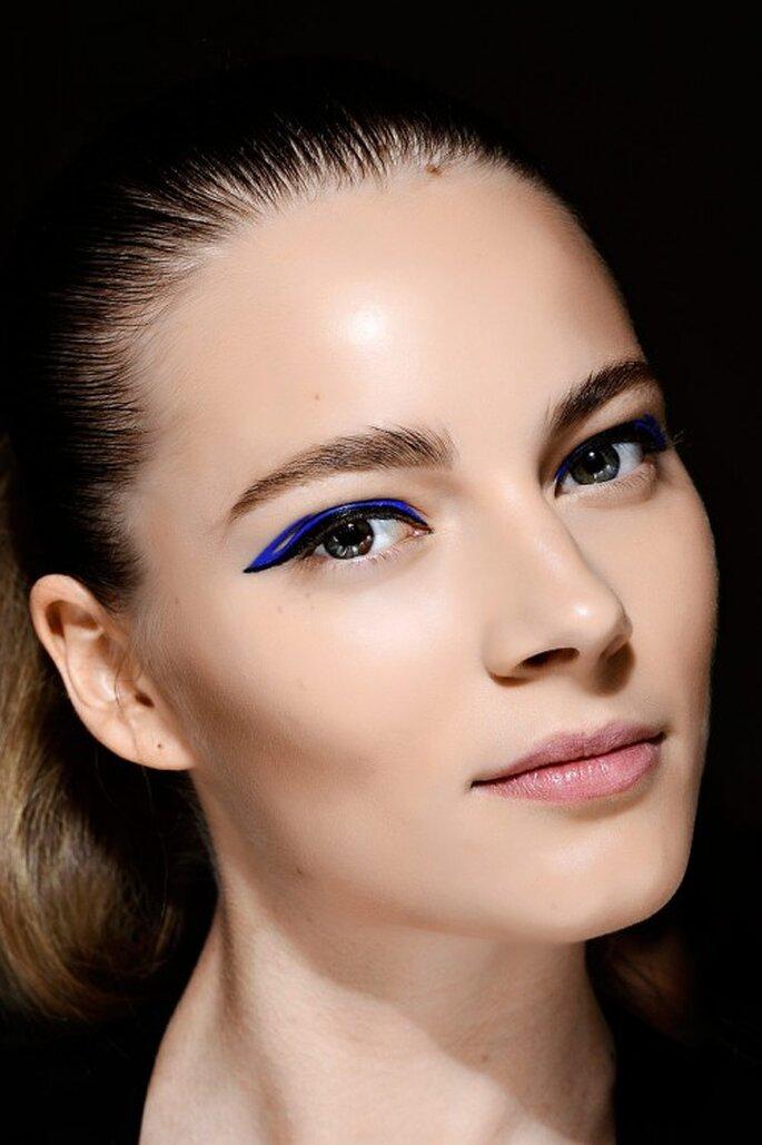3 tendencias otoñales para delinearte los ojos - Foto: Monique Lhullier