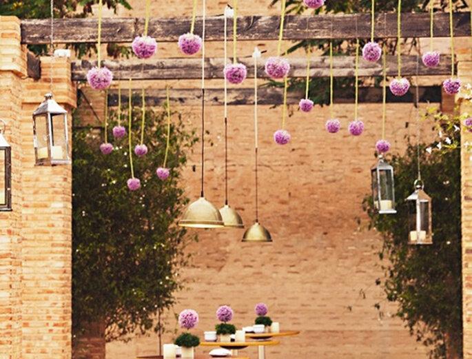 Arreglos florales originales para tu boda - Attitude Fotografía