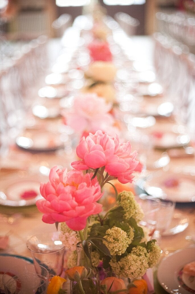 Cómo elegir al mejor florista de bodas - Foto Blaine Siesser Photography
