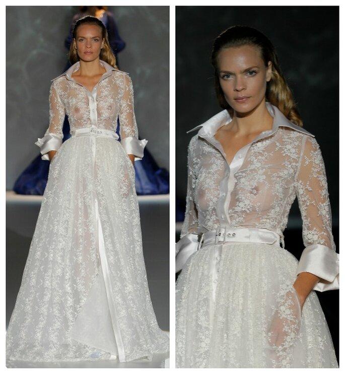 Isabel Zapardiez 2015. Foto: Barcelona Bridal Week