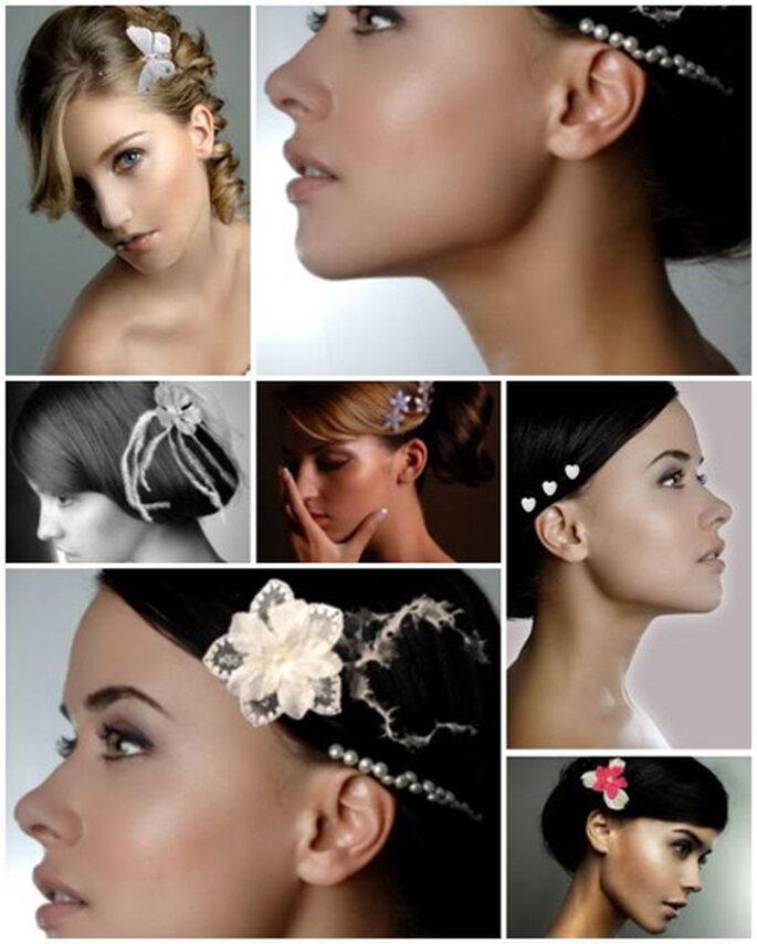 Bijoux pour cheveux mariée