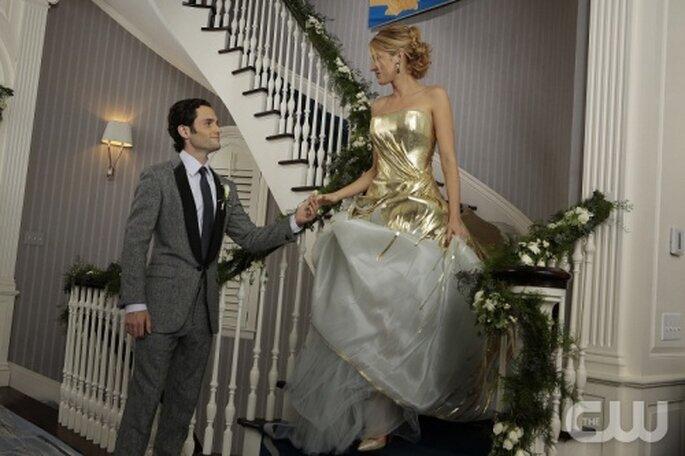 Luce como Serena Van Der Woodsen de Gossip Girl para tu boda en año nuevo - Foto The CW