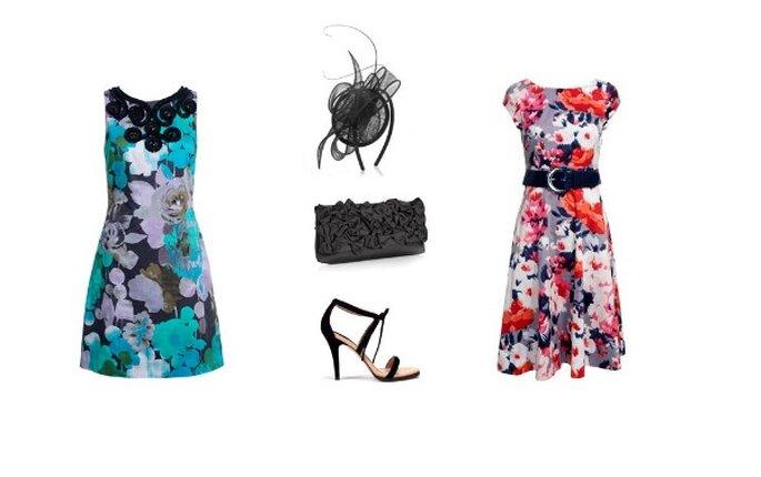 Robes- Monsoon : Chaussures – Zara : Sac & Serre tête- Accessorize