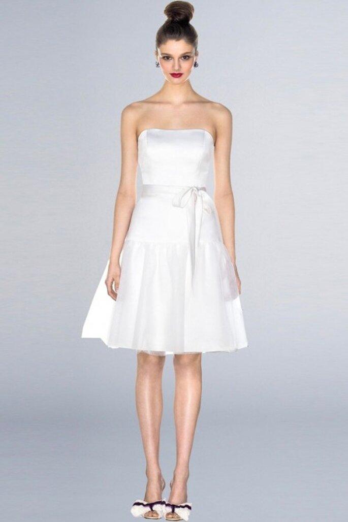 Elige un vestido de fiesta en color blanco para el día de tu boda - Foto Best Dress Mall