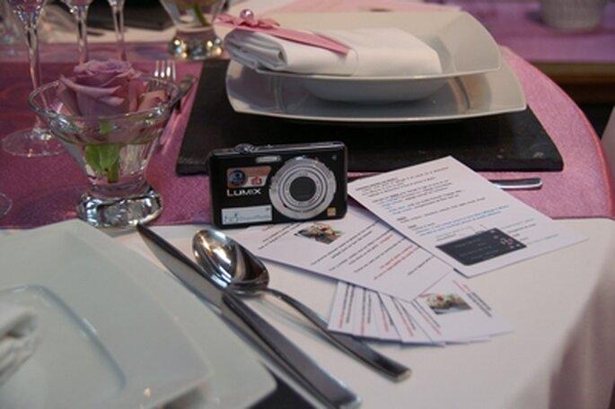 Transformez vos invités en photographe de mariage