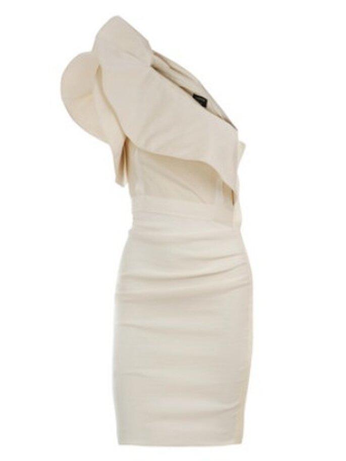 Lanvin Prêt-à-porter verão 2010 - sugestão vestido de noiva curto