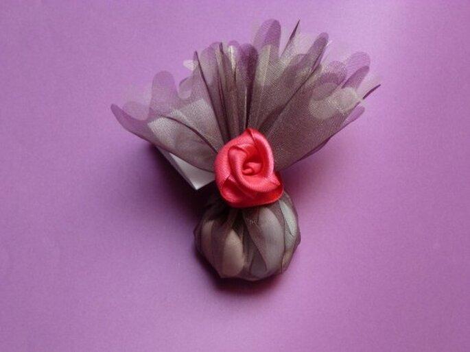 DIY : mini-roses en tissu
