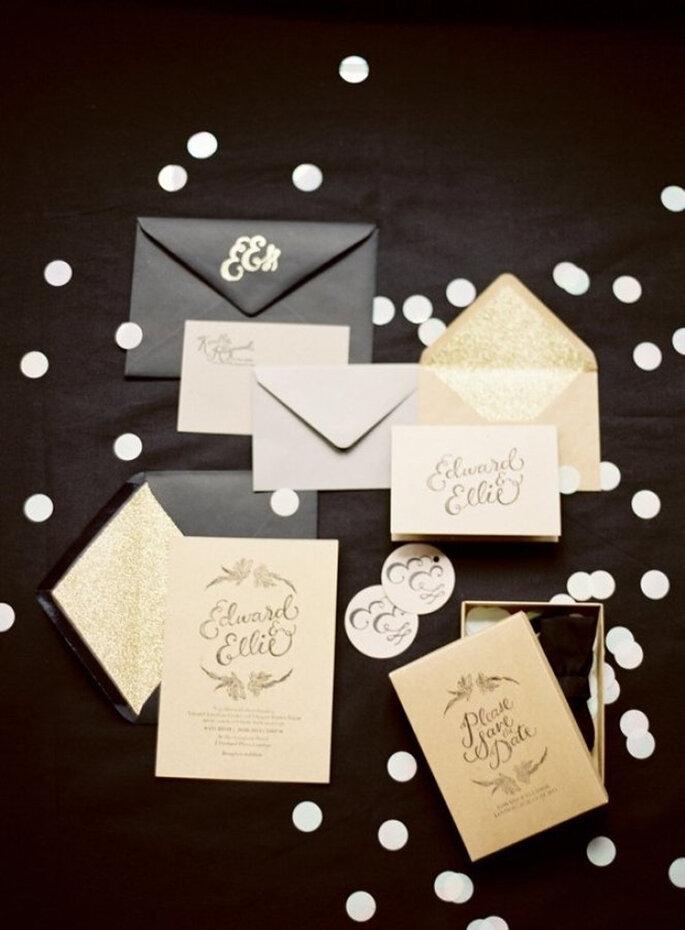 Invitación de boda.