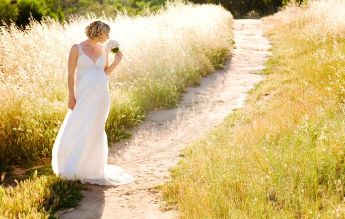 Vestidos de noiva para grávidas - Maternity Brides