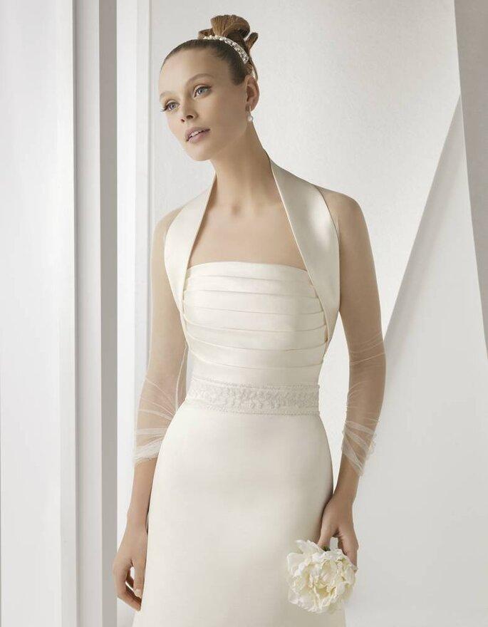 Vestido de Noiva Rosa Clará 2012 - Alada