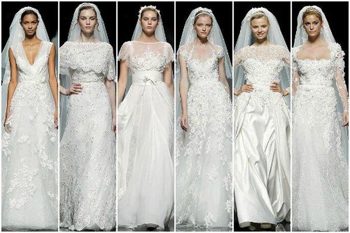 Colección 2013 de vestidos de novia de Elie Saab. Foto: Pronovias