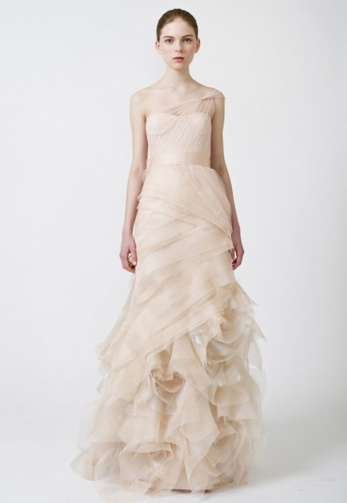 10 de los más lindos vestidos de novia de Vera Wang