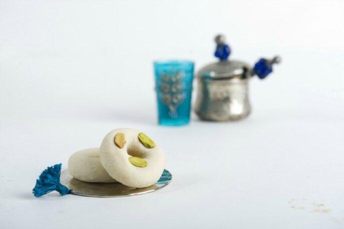 Des douceurs traditionnelles tunisiennes qui réjouiront les papilles des invités de votre mariage... - Source : Les Galets