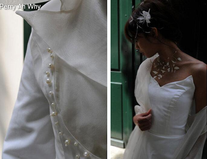 Perry Ah Why : des robes de mariée uniques