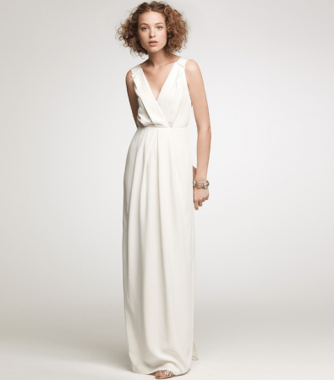 Washed Crepe Aveline Gown
