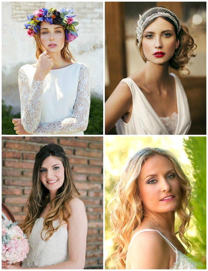 Oui Novias, Carolina Miret Make Up Artist, Novia In Love y Rebeca San Juan