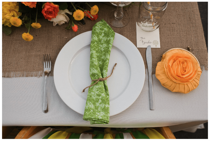 #MartesDeBodas: Decoración de boda en color verde - Foto Jen Rodriguez Photography