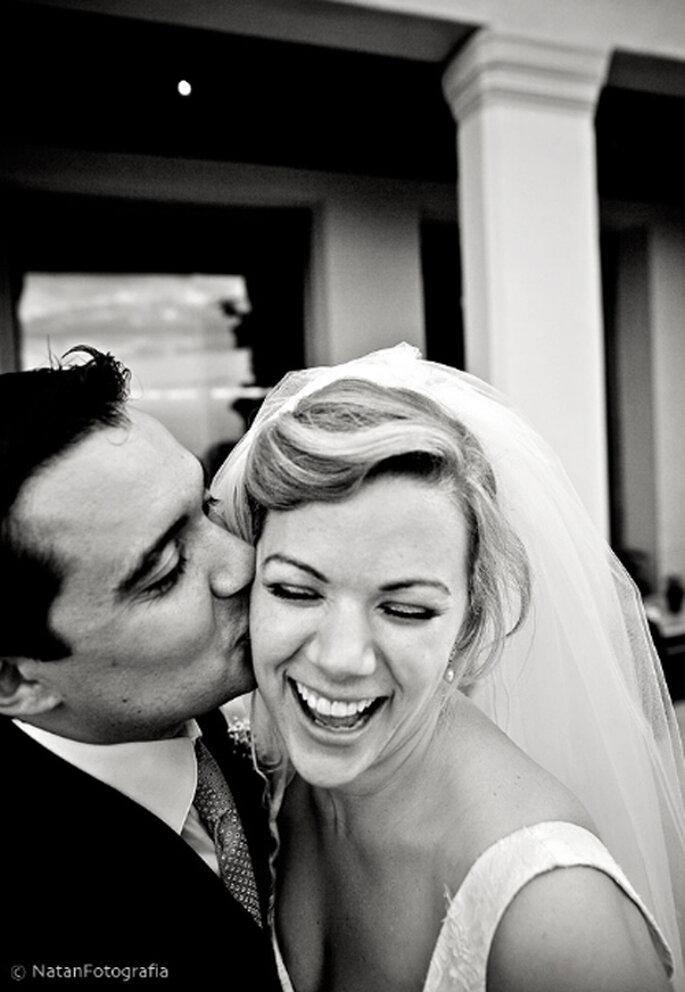Recien casados disfrutando el momento - Foto Natán