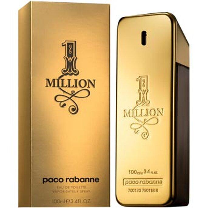 Envase y presentacion del perfume One Million