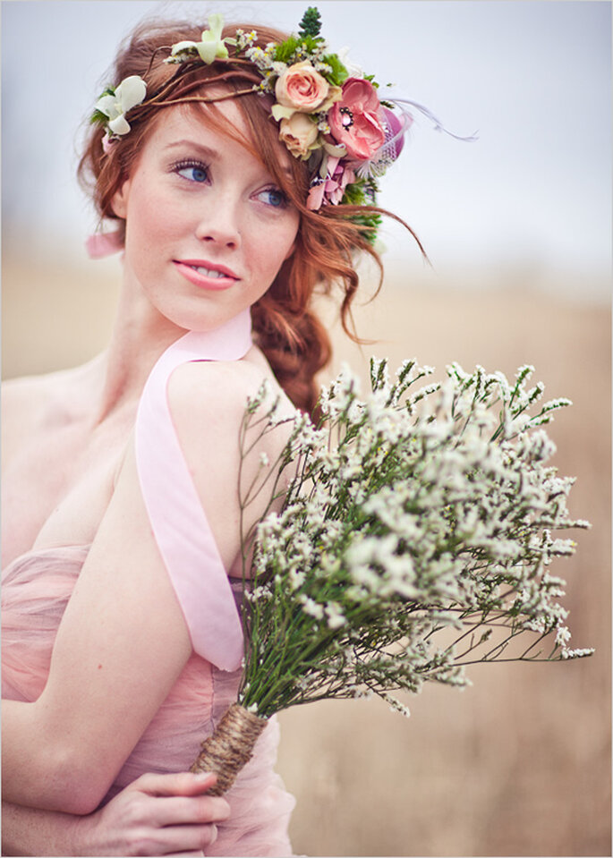 Trenzas, el peinado must para las novias con estilo - Foto Just for You