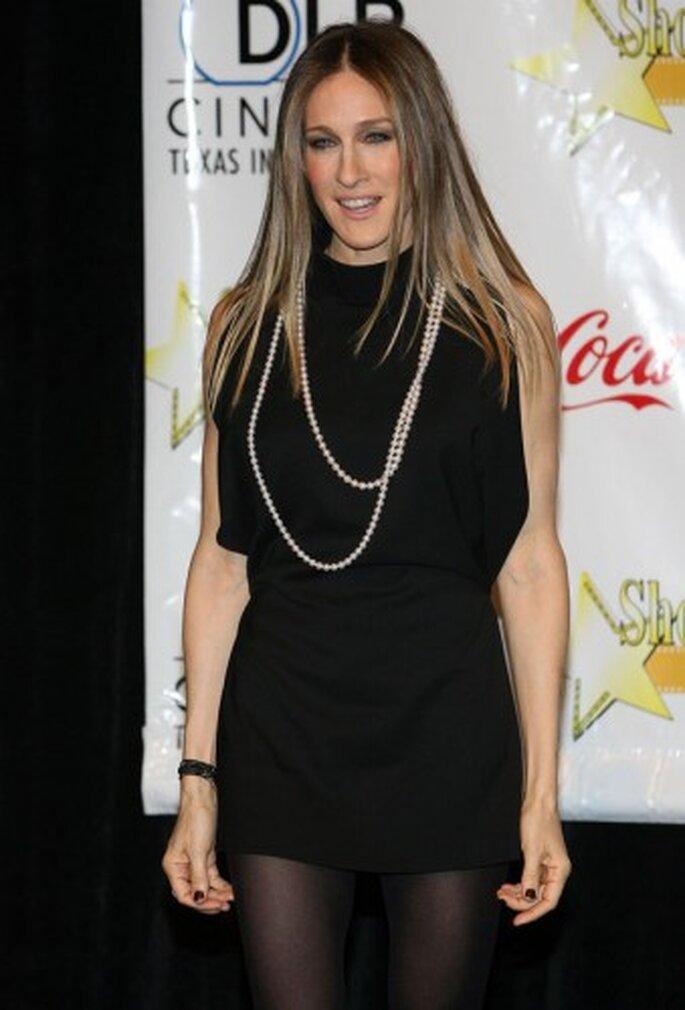 Sarah Jessica Parker Pearl Necklaces
