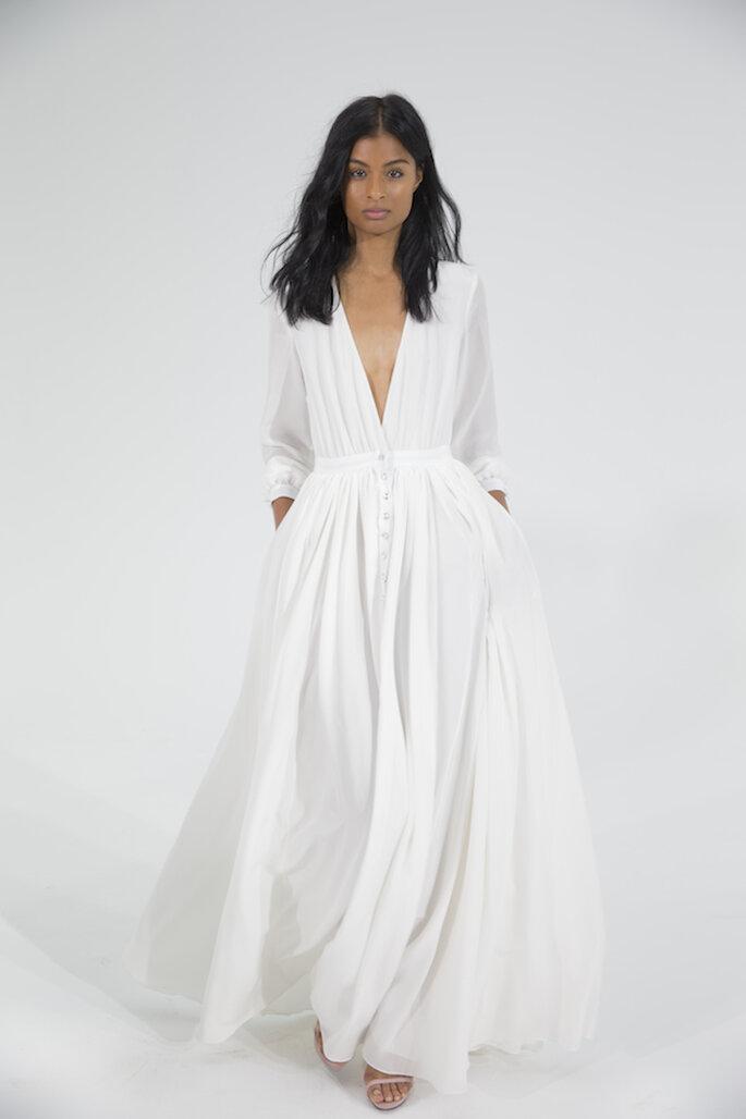 El vestido de novia perfecto para una boda clásica y elegante - Houghton
