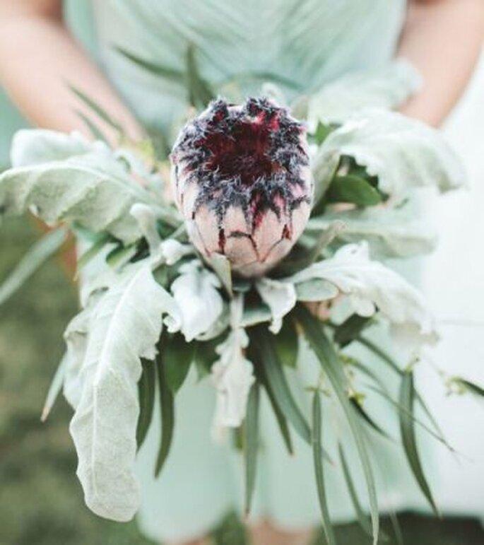 Außergewöhnlicher Brautstrauß im herbstlichen Look - Foto: ulmerstudios-wedding