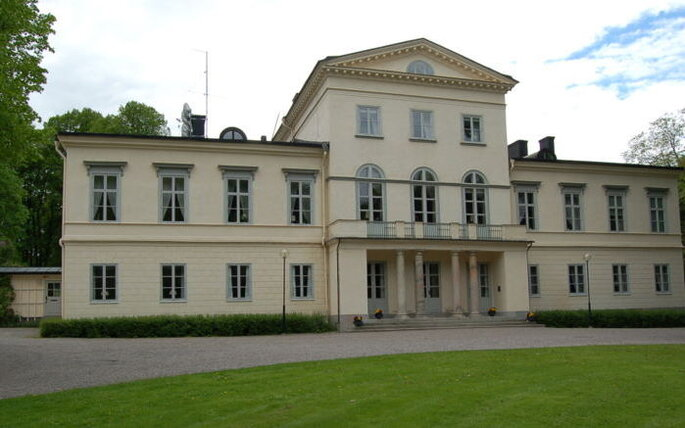 Le Palais de la haga, future résidence de la Princesse Victoria de Suède