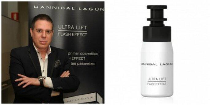 Hannibal Laguna en la presentación de Ultra Lift. Foto: Soledad González