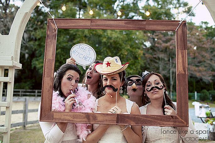 Spätestens nach der Hochzeit gibt es bestimmt eine Menge Fotos, die ...