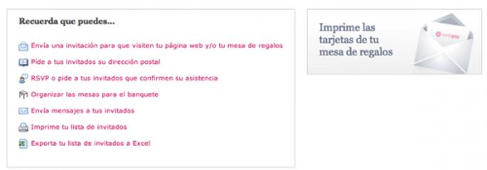 Todas las mejores herramientas de organización en tu página web de bodas Zankyou