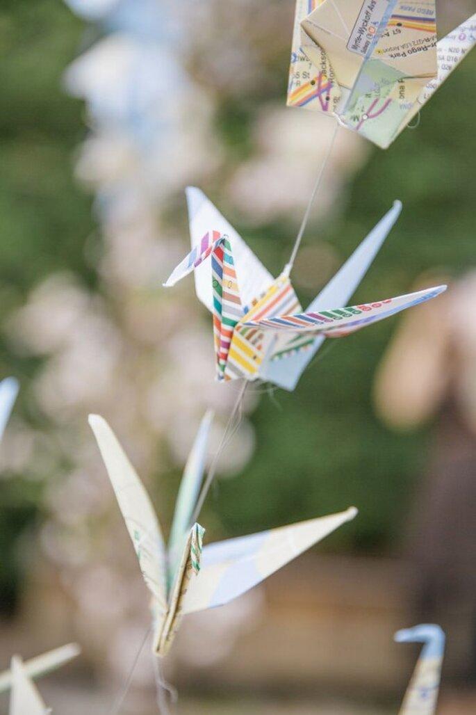 Decoración suspendida para bodas - Foto 1313Photography